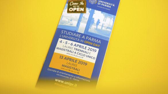 """Dal 4 aprile: """"Studiare a Parma. L'Università in Open Day"""""""