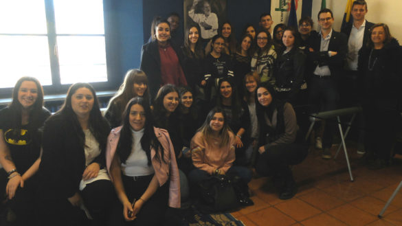 "I tirocinanti di ""I Like Parma"" in Municipio"