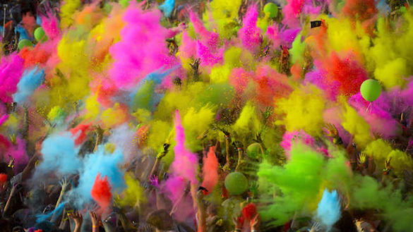 The Color Run, la prima tappa si svolgerà in Cittadella a Parma!