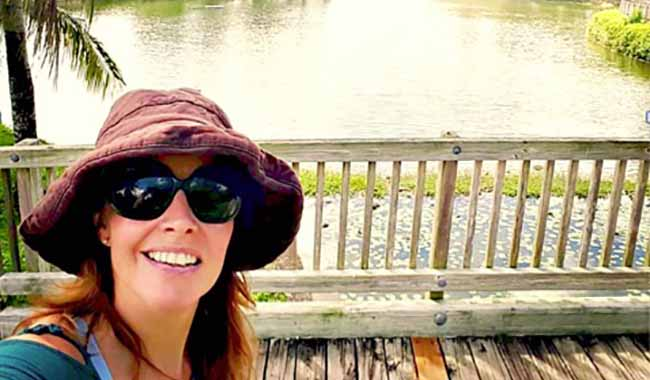 Miami Museum Park palms across PAMM Museum