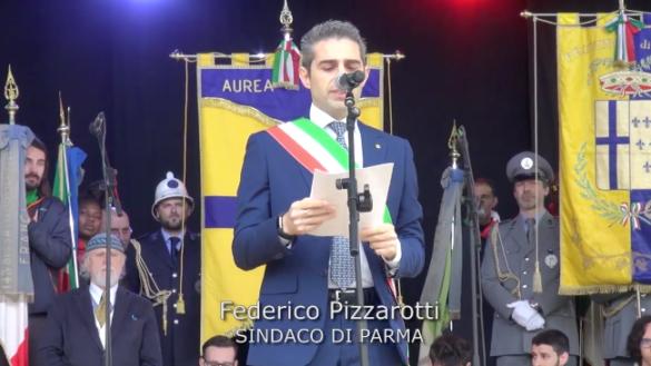 25 aprile: il discorso integrale del Sindaco Pizzarotti