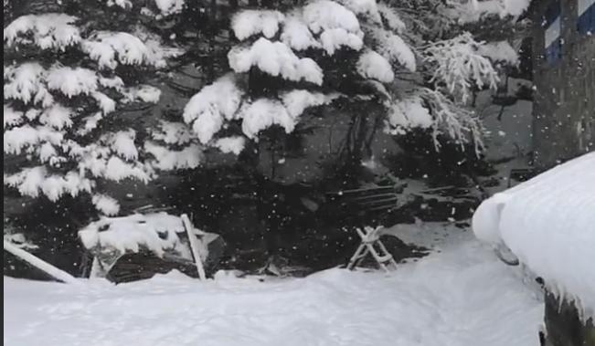"""Domenica """"in bianco"""" in Appennino: neve al lago Santo e non solo"""