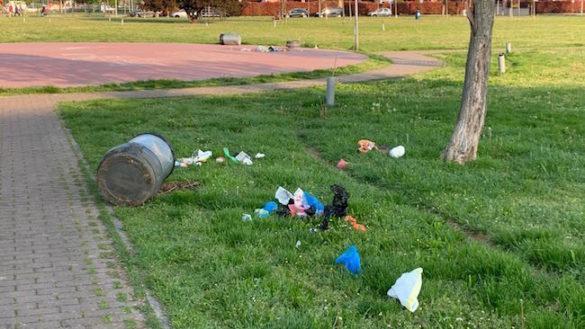 """Vandali al parco Egaddi. """"Atti inaccettabili"""""""