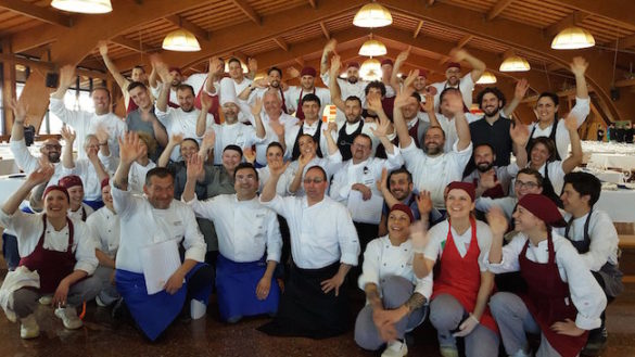 Charity Dinner a San Patrignano. Parma porta a tavola 1.500 persone