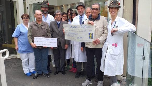 Oncologia: un sostegno alla ricerca dal Gruppo Alpini Emiliani