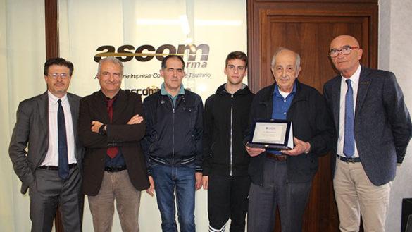 Galloni Cornelio: 70 anni di fedeltà associativa con Ascom