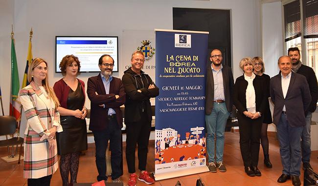 Gastronomia e solidarietà: la cena di Boorea nel Ducato