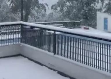 Le neve, come previsto, è arrivata! Appennino imbiancato
