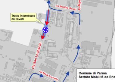 Via San Leonardo, modifiche alla viabilità dal 13 al 21 maggio