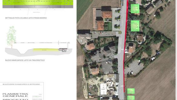 Botteghino, dal 17 giugno partono i lavori per i marciapiedi