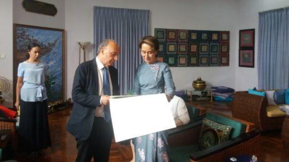 L'assessore Venturi in Birmania per un sistema sanitario universalistico
