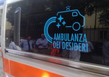 E' partita l'Ambulanza dei desideri! VIDEO