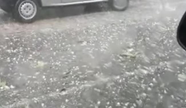 Calo delle temperature, il maltempo fa danni in provincia
