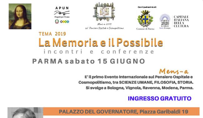 Mens-a, il 15 giugno a Parma il festival internazionale di cultura diffusa