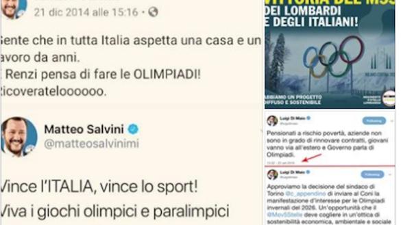 Milano-Cortina 2026, anche Pizzarotti esulta… e punge Salvini e Di Maio