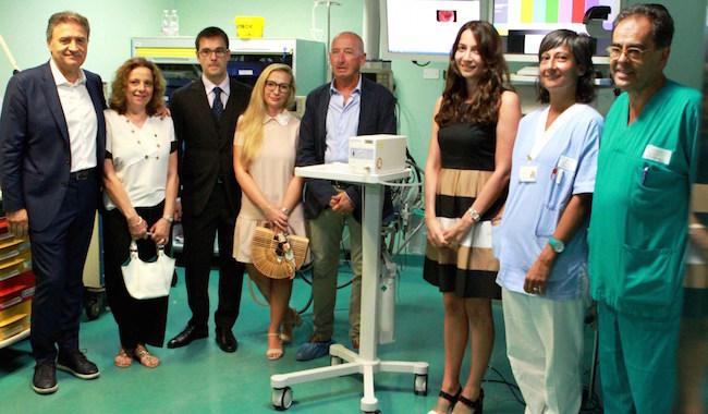 Valentina e Iacopo festeggiano le nozze con una donazione a Snupi per la gastroenterologia del Maggiore