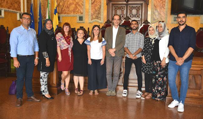 Dal Marocco a Parma. Il saluto in Municipio ai tirocinanti di Rabat