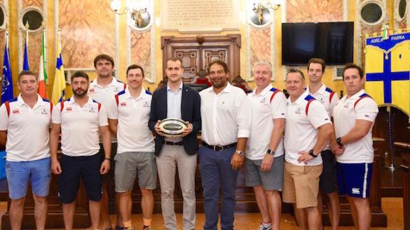GALLERY. Rugby, la delegazione russa è arrivata in città!