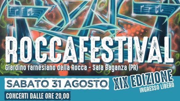 Roccafestival 2019, musica e arte a Sala Baganza!