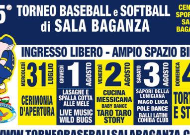 Sala Baganza in festa con le 34 squadre del Torneo di Baseball internazionale