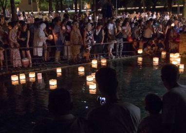 Martedì 6 agosto, la cerimonia delle lanterne sull'acqua al Parco della Musica