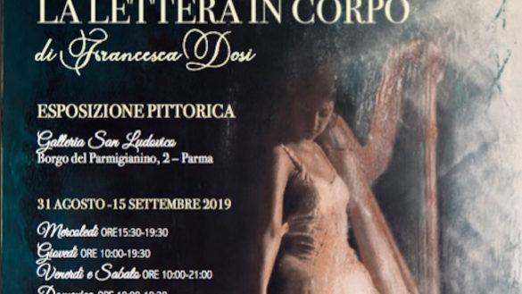 """""""La lettera in corpo"""", in Galleria San Ludovico le opere dell'artista Francesca Dosi"""