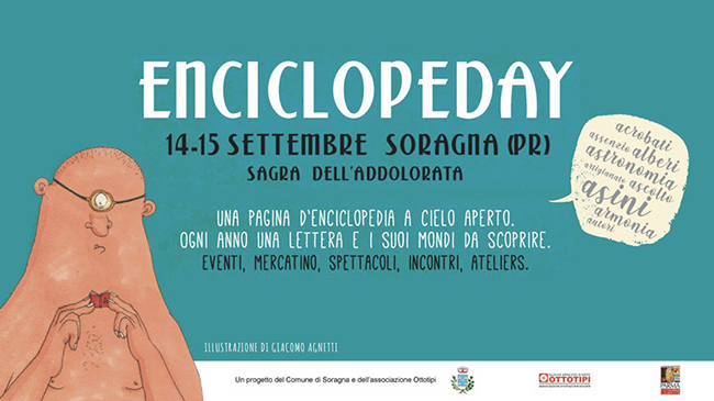 Enciclopeday a Soragna, il 14 e 15 settembre 2019