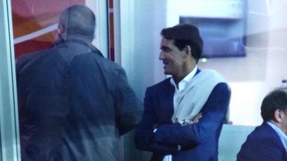 Tommaso Ghirardi a colloquio col ct Mancini, l'ira del popolo crociato