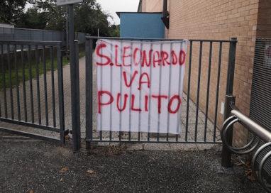 San Leonardo, spuntano le lenzuola per un quartiere più pulito