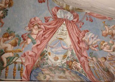Restauro Reggia di Colorno, emergono inediti affreschi