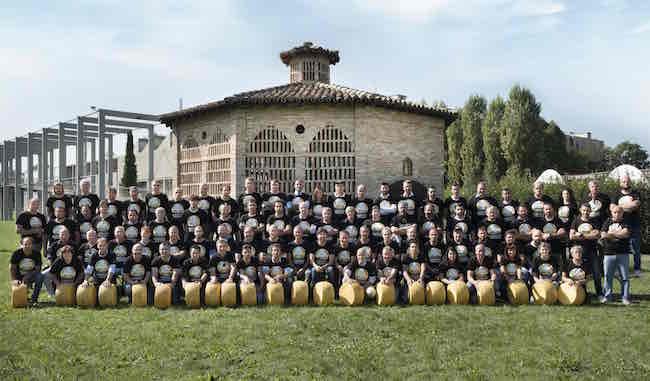 World Cheese Awards: per la Nazionale del Parmigiano 110 medaglie!