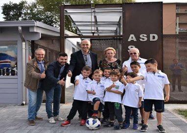 Quartiere San Leonardo: rinnovato l'impianto sportivo