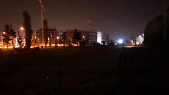 """""""La nuova illuminazione dietro l'Eurosia. Area cani e parco al buio!"""""""