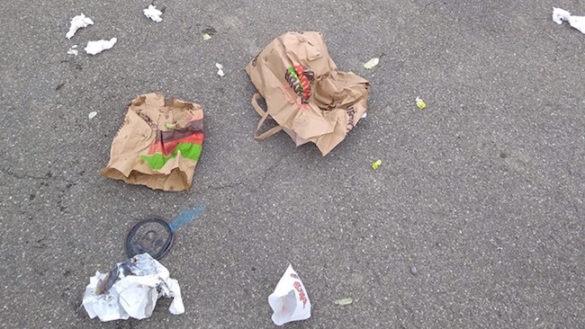 Fast food e inciviltà. Il problema dei rifiuti continua
