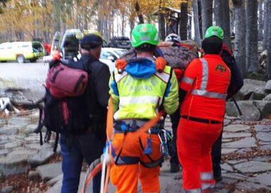 Domenica di lavoro per il Soccorso Alpino. Doppio intervento