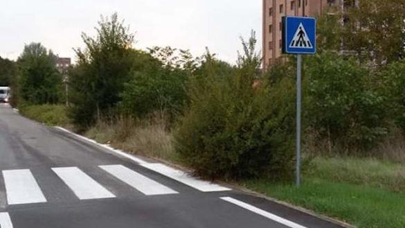 """""""Via Sidoli? Le strisce pedonali finiscono nella giungla"""""""
