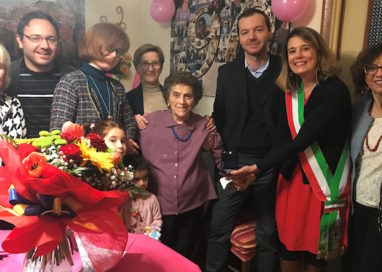 I 100 anni della signora Pierina Baldini!