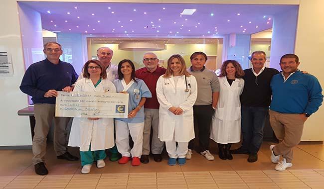 Una generosa donazione per l'Ospedale dei bambini