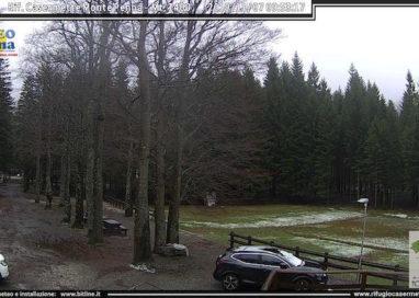 Sono scesi i primi fiocchi di neve sull'Appennino parmense!