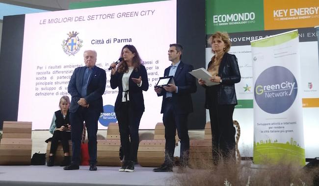 """Ecomondo, Parma premiata. Pizzarotti: """"Siamo modello green"""""""