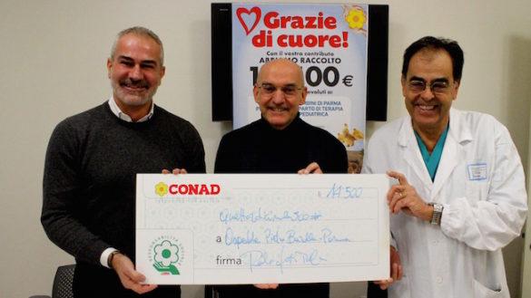 Grazie agli Amici della Preistoria donati oltre 14 mila euro all'Ospedale dei Bambini