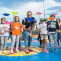 Giocampus Day: presenti 1.500 bambini con Gregorio Paltrinieri
